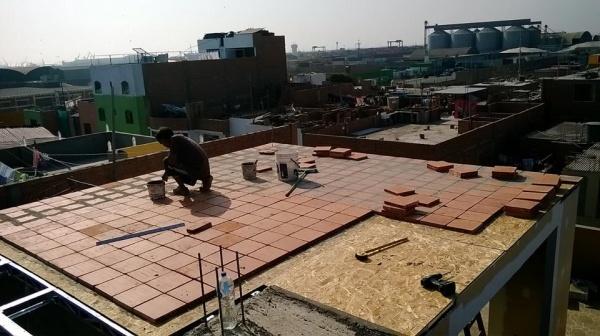 Techo Pastelero Con Drywall Resistente E Impermiable